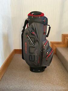 Big Max Unisex Aqua Sport 2 Waterproof Golf Cart Bag - Black And Red - BNWT