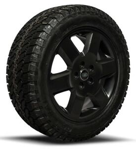 """Genuine Land Rover Discovery 3 19"""" Winter Wheels & General Grabber AT3 Tyres"""