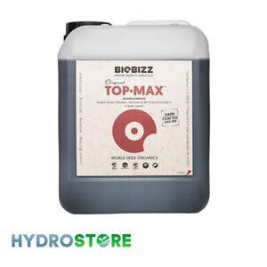 Biobizz Top Max - 5 Litres. 5L. 5ltr. Plant Nutrient. Hydroponics. Bio Bizz.