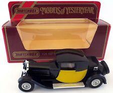Matchbox Bugatti Typ 44 No Y-24 Models of Yesteryear 1927 Karton 1983 MOY