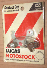 LUCAS NOS CS5 423153 Contact Set Points.. FITS Classic Morris Mini & MG MGB etc.