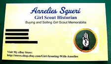 MY MOM'S a GIRL SCOUT LEADER Patch NEW Badge Collector GIFT Combine Ship