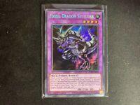 Yugioh BLAR-EN010 Fossil Dragon Skullgar Secret Rare