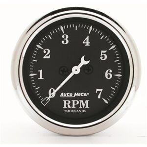 "Auto Meter 1797 2-1/16"" In-Dash Tachometer 0-7,000 Rpm Old Tyme Black"
