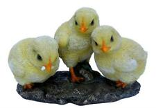 Set of 3 (THREE) Chicks Chickens Vivid Arts Garden Ornament NF-CHIK-D