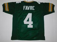 Unsigned Custom Green Brett Favre Jersey Sewn Stitched Letters Numbers SZ Large