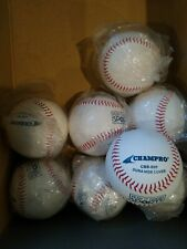 8 Champro baseballs New and sealed