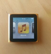 Apple iPod Nano 6g/6. generación 16gb naranja-super Estado