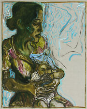 "Billy CHiLDiSH SiGNED Print ""Baby in Blue Tam"" STUNNING Ltd Ed L-13 Archive RARE"