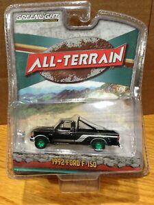 GREENLIGHT GREEN MACHINE CHASE ALL TERRAIN SERIES 9 1992 FORD F-150