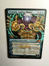 TEZZERET ARTIFICE MASTER MYSTERIO MAGIC ALTERED ART HAND PAINT BY DEMIAN SOLIS