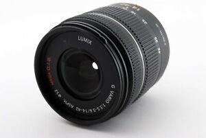 Panasonic Lumix G Vario H-FS1442A 14-42mm f/3.5-5.6 Auto&Manual Zoom LENS #073