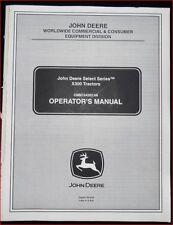 John Deere Schlepper X 300 Betriebsanleitung