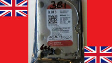 """Western Digital WD Red NAS Hard Drive 3TB 5400 RPM 8.89 cm 3.5""""  WD30EFRX UK New"""