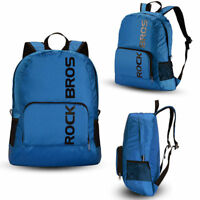 RockBros Waterproof Foldable Backpack Hiking Cycling Outdoor Nylon Bag Blue
