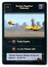 Star Wars Young Jedi CCG 1 Foil Teemto Pagalies' Podracer F18 LP/LP+ 2 Available