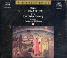 Dante The Divine Comedy Purgatory Naxos audio book CD NEW