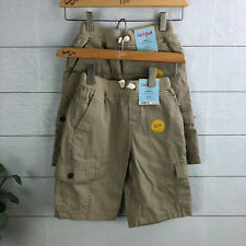100/% Cotton Beige Cat /& Jack Boys Cargo Shorts