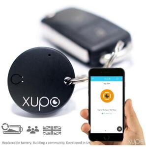 Xupo Key Finder and Item Locator Beacon, British Design Smart Tracker Tag