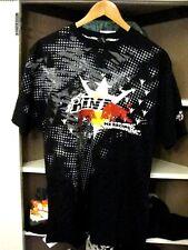 Kini Red Bull mens motocross t-shirt size L Black  NWT