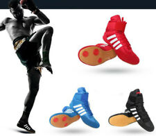 New Junior&Adults Faux Leather Boxing Boots Rubber Sole Boots Short Ankle Boots