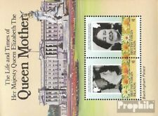 Jungferninseln Blok 24 (compleet Kwestie) MNH 1985 Queen Mother Elizabeth