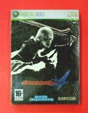 Devil May Cry 4 - Edicion Coleccionista - caja metalica - XBOX 360 - NUEVO