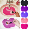 Silicone Makeup Brush Washing Scrubber Board Cosmetic Cleaning Mat Pad Tool Hot