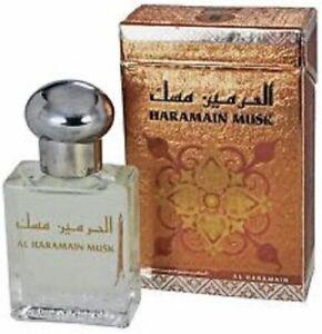15ml Al Haramain MUSK Arabian Perfume Oil Attar with White Musk, Sandalwood