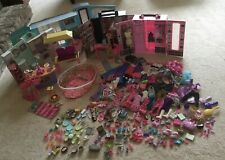 Huge Barbie Lot! House, closets, furniture, accessories, clothes!