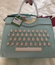 NWT Kate Spade Collectible Be Mine Typewriter Leather Sold Out!!! Amazing!