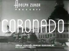 CORONADO ~ Johnny Downs, Jack Haley 1935  region free DVD