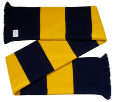 Arsenal Supporters Navy and Gold Retro Bar Scarf  - Made in the UK