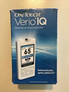 New in box - Verio IQ One Touch Starter Kit Blood Glucose Monitoring System