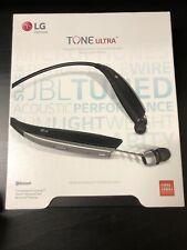 New listing Lg Tone Ultra Hbs-820 Bluetooth Wireless Stereo Black Neckband Headset