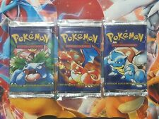 Pokemon 1st Edition Spanish Booster Packs *Weighed*