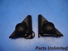 01-05 Honda Civic OEM side mirror covers garnish & tweeters speakers coupe Ex x2