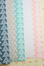 Modern Triangles Card Stock 250gsm wedding craft fancy cardstock journaling card