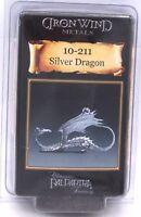 Ral Partha 10-211 Silver Dragon (1) Miniature Winged Great Drake Wyrm Tom Meier