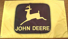 New Yellow Car Racing Banner Flags 3x5FT for John deere Flag Free Shipping