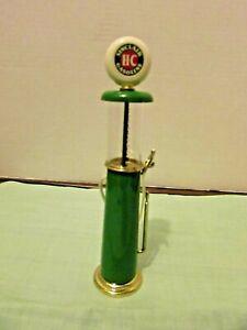 """Miniature: Sinclair H-C gasoline pump,  7 1/2"""" TALL  EXCELLENT CONDITION"""