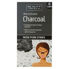 Beauty Formulas Nose Pore Strips Blackhead Removal Unclog Pores Smooth Cleaning