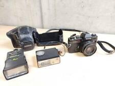 KONICA Autoreflex TC + HEXANON AR 40mm f/1,8 EXC + Flash