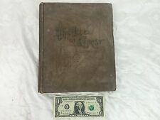 """1890 Antique Hardcover """"The Life of Christ"""" Illustrated by Canon Farrar"""