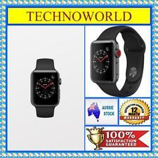 Apple Watch Series 3 38mm GPS + Cellular 4G Grey Aluminium Case Black Sport Band