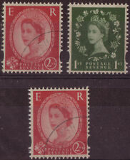 GREAT BRITAIN 2002 WILDINGS VARIETY SET 3 FINE USED 2258,8a,9.