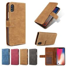 Mesh Heat Dissipation Wallet Card Slot Bracket Case For iPhone X