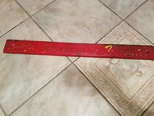 Stroehmann Bread Door Push Pull Metal Sign HANDLE Soda Country Store ONE SIDE