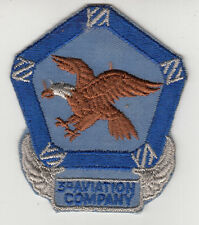 Vintage 3rd Aviation Company Patch