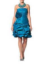 APART Bandeaukleid 36 Taftkleid Abendkleid Partykleid Festlich türkis 66087 500
